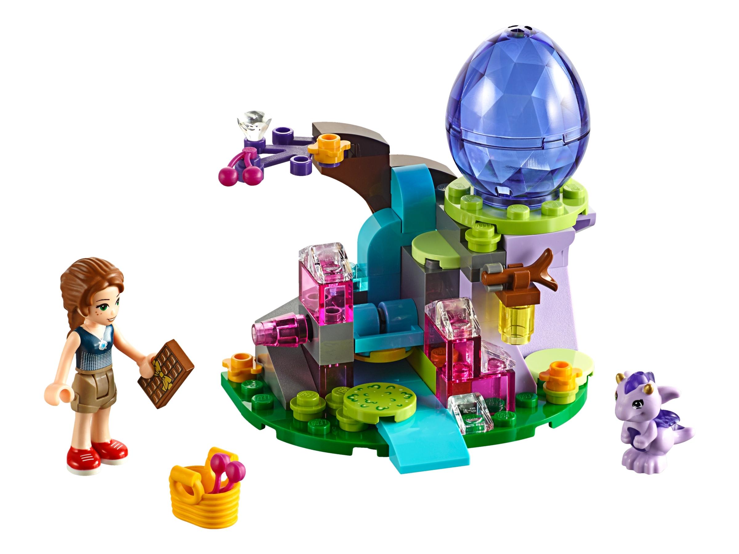 Babydrachen mit Ei sehr selten Lego Elves 26090pb06 aus 41180