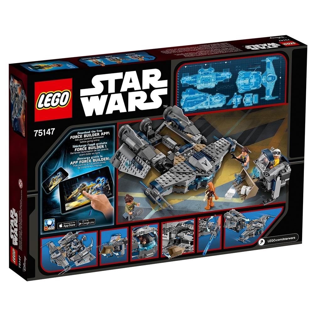 LEGO STAR WARS ZANDER MINIFIGURE w// Wrench AUTHENTIC NEW 75147
