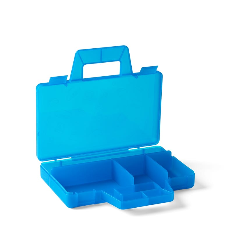 Transparent Blue Sorting Case To Go