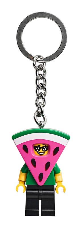 Watermelon Guy Key Chain