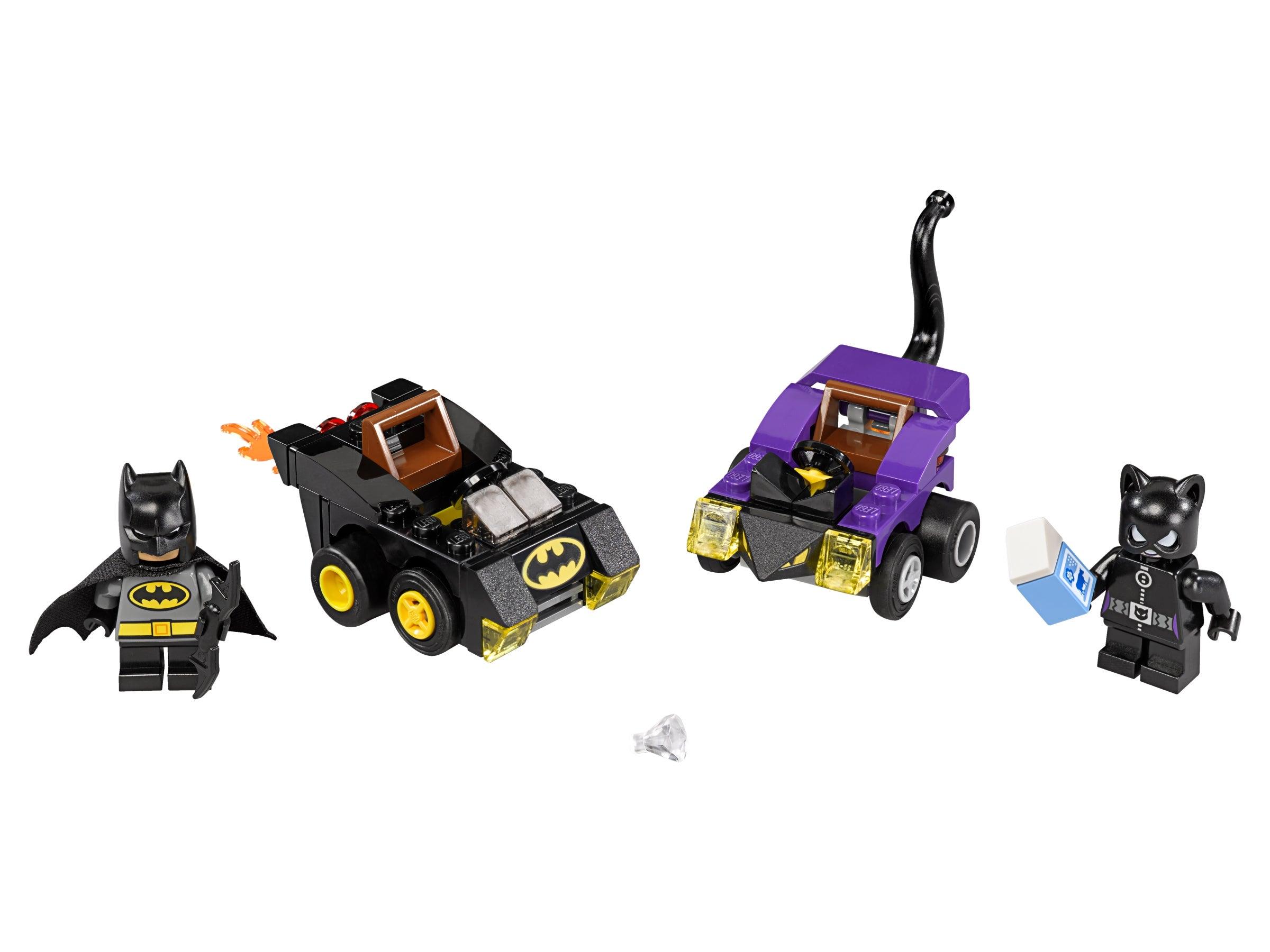 Catwoman NEW sealed 79 pcs Batman vs LEGO DC Super Heroes 76061 Mighty Micros