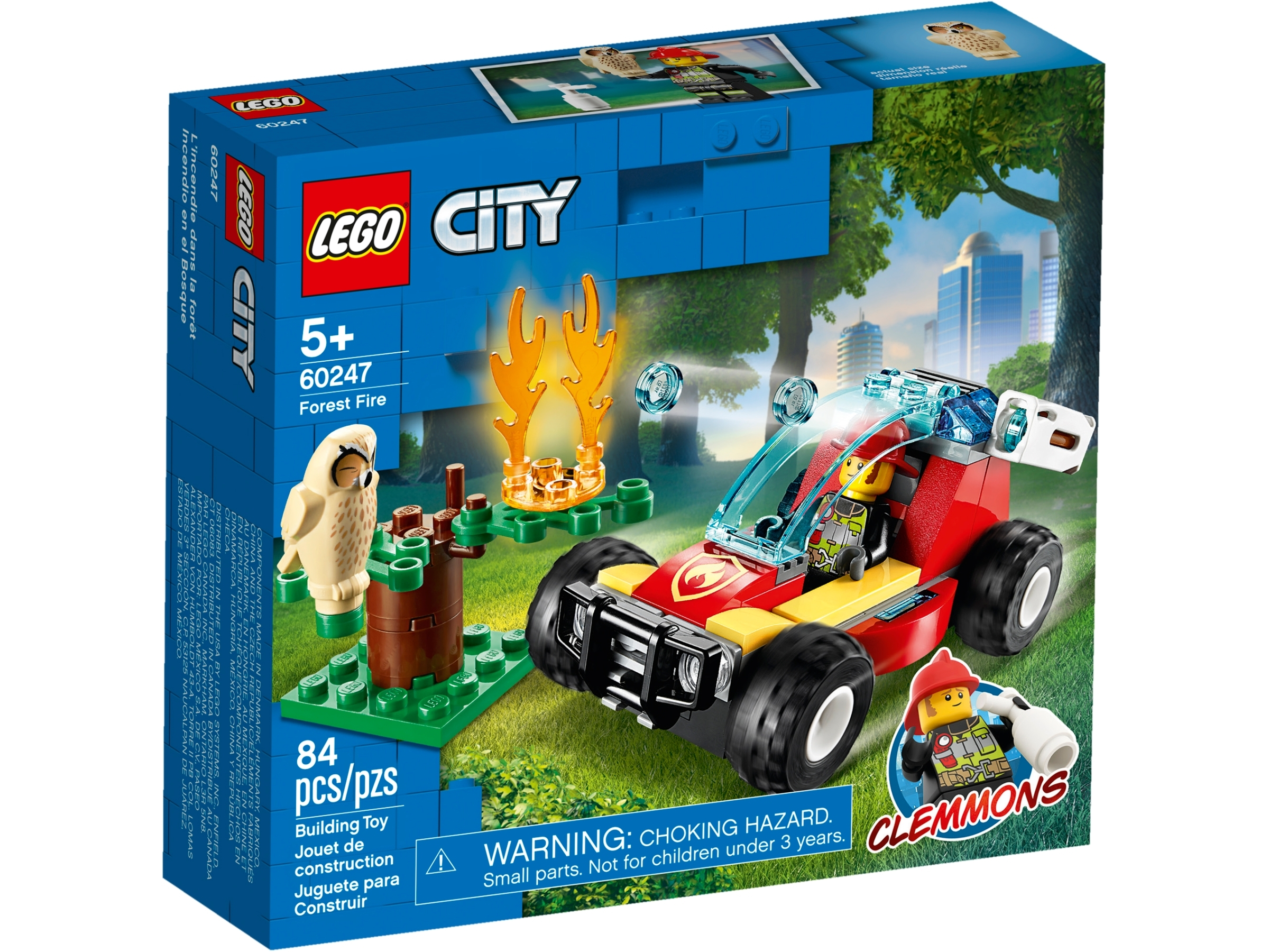 Lego/City/60247/Forest/Fire/Response/Buggy/with/Firefighter