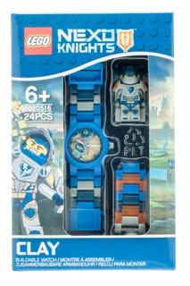 Montre à construire pour enfant LEGO® NEXO KNIGHTS™ Clay