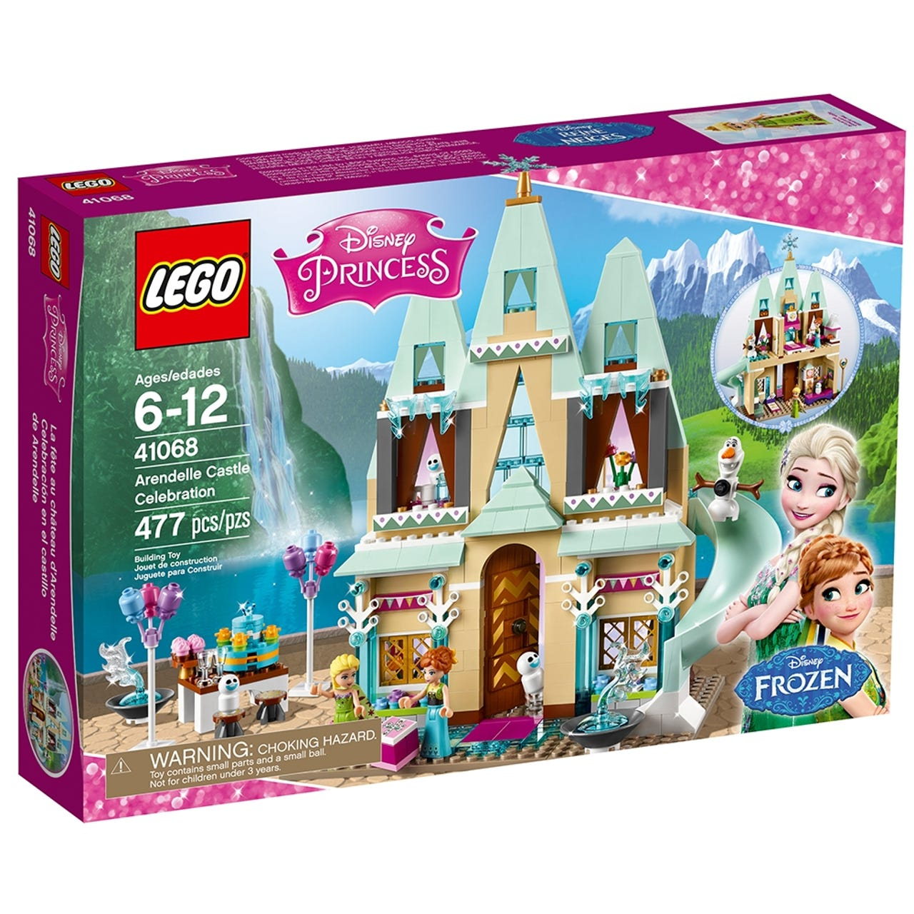 Arendelle Castle Celebration 41068 Disney Buy Online At The Official Lego Shop Us