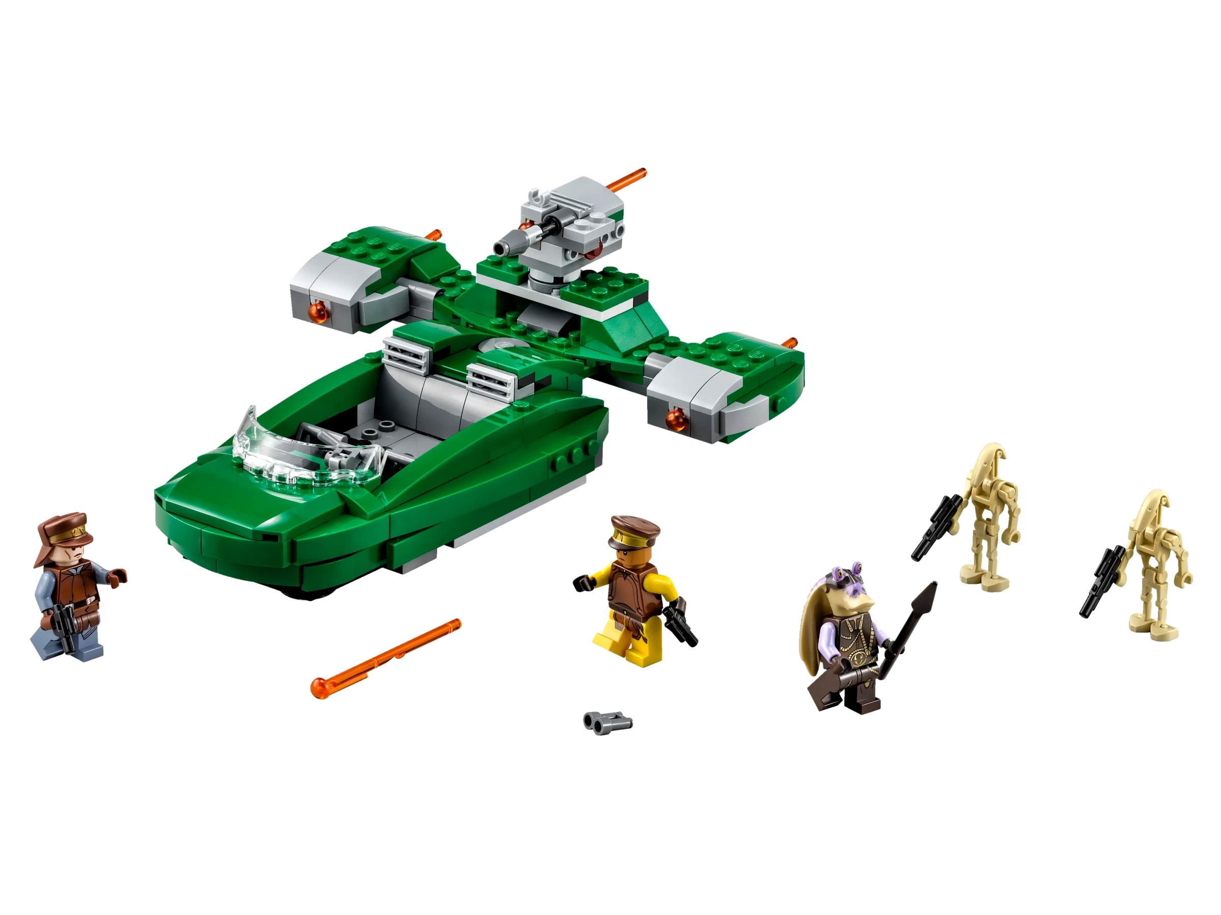 LEGO Star Wars Naboo Captain Tarpals Minifigure 75091 Mini Fig