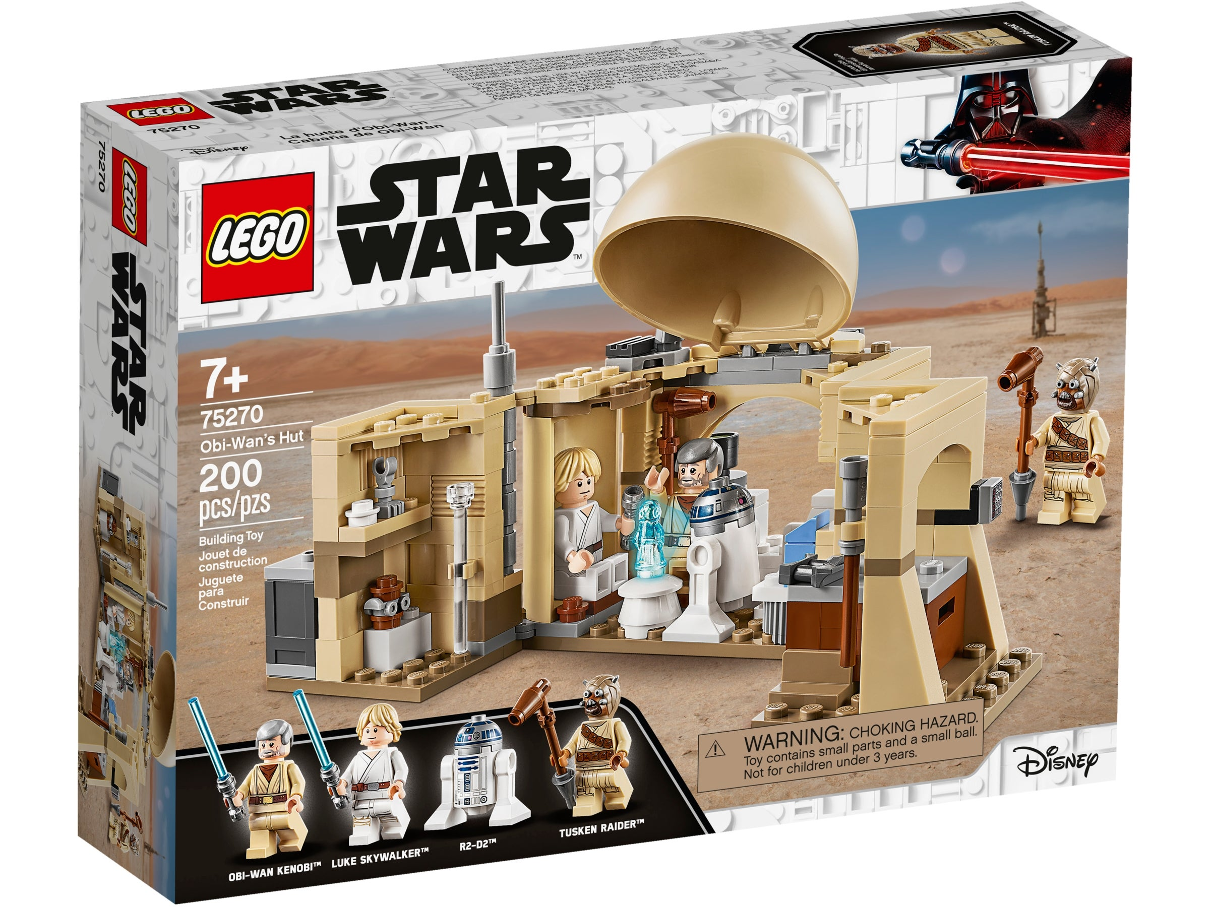 Lego Star Wars Obi-Wan's Hut Building Set with Princess Leia Hologram Set 75270
