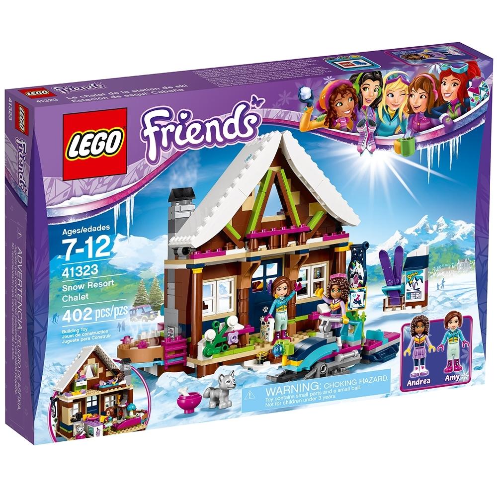 lego friends lo chalet del villaggio invernale istruzioni