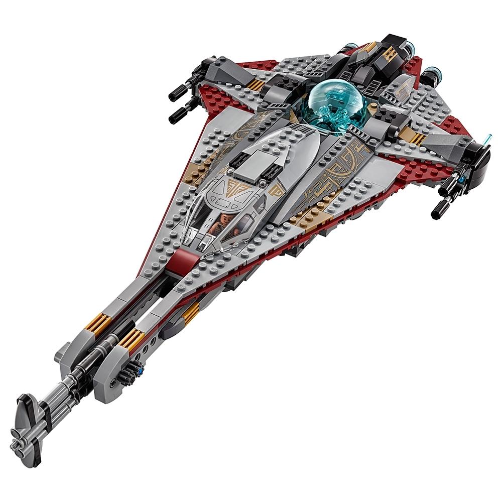 - Figur Minifig Arrowhead Kordi Freemaker 75186 Zander LEGO Star Wars 75186