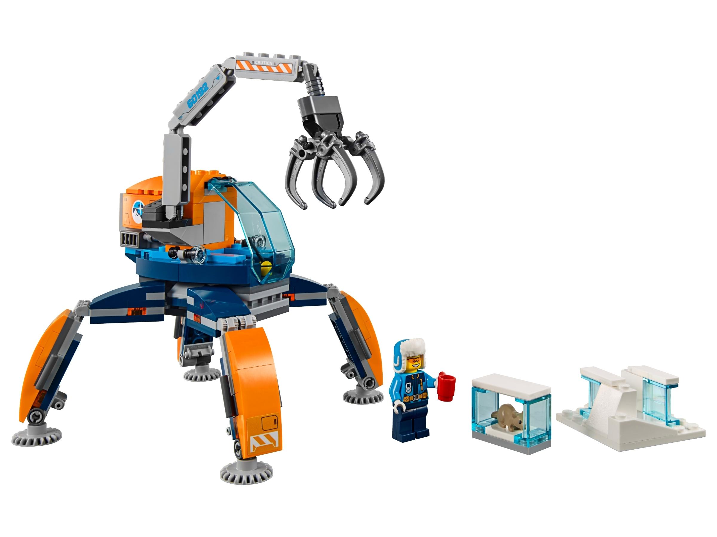 LEGO City Arctic Ice Crawler 60192 Building Kit 200 Piece