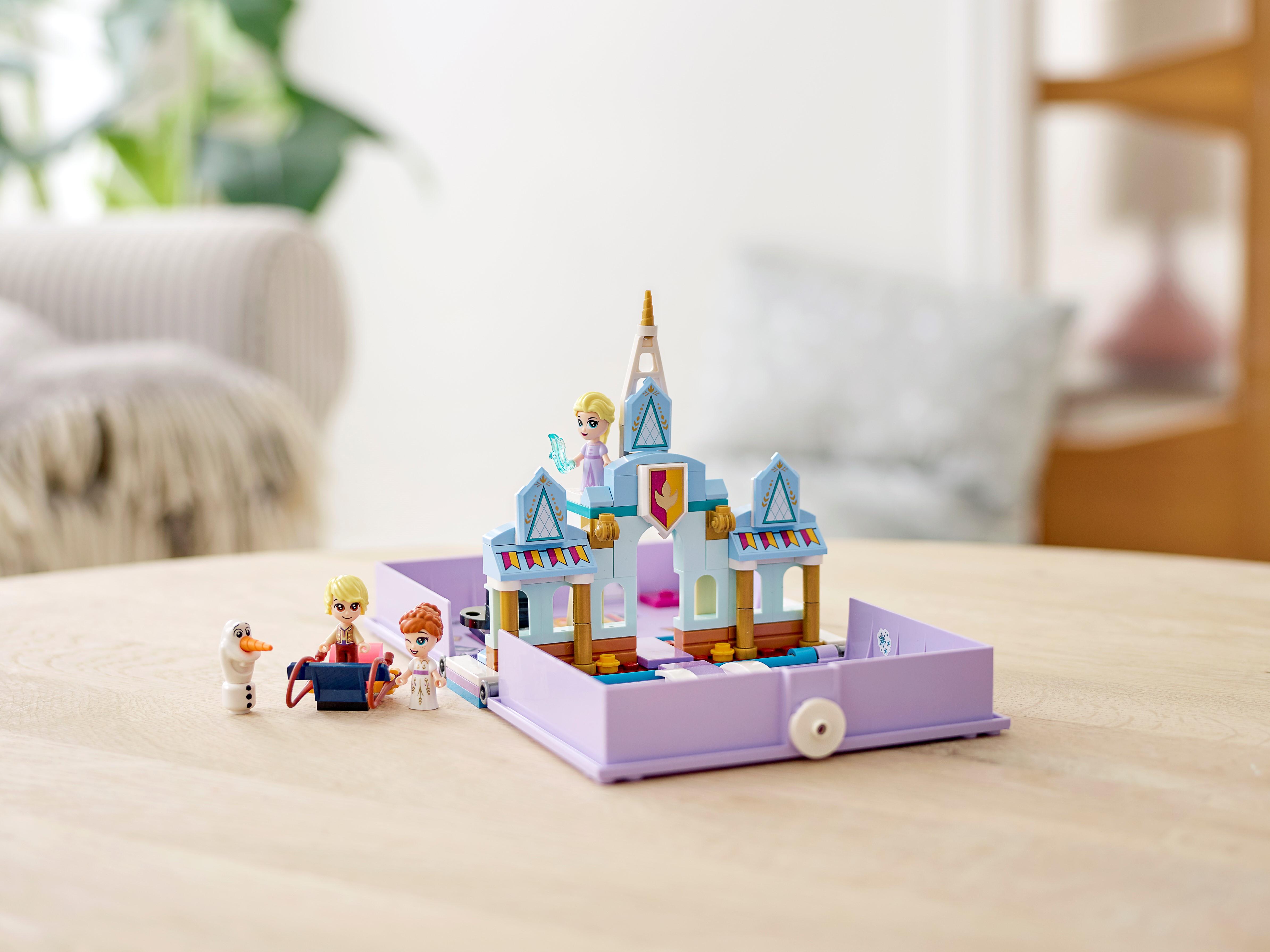 Elsa LEGO Disney Princess Figur Minifigur Doll Anna Olaf Märchen Buch 43175