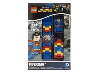 LEGO® DC Comics™ Super Heroes Superman™ Minifigure Link Watch