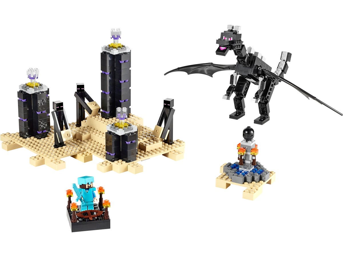 The Ender Dragon 21117 Minecraft Buy Online At The Official Lego Shop Us