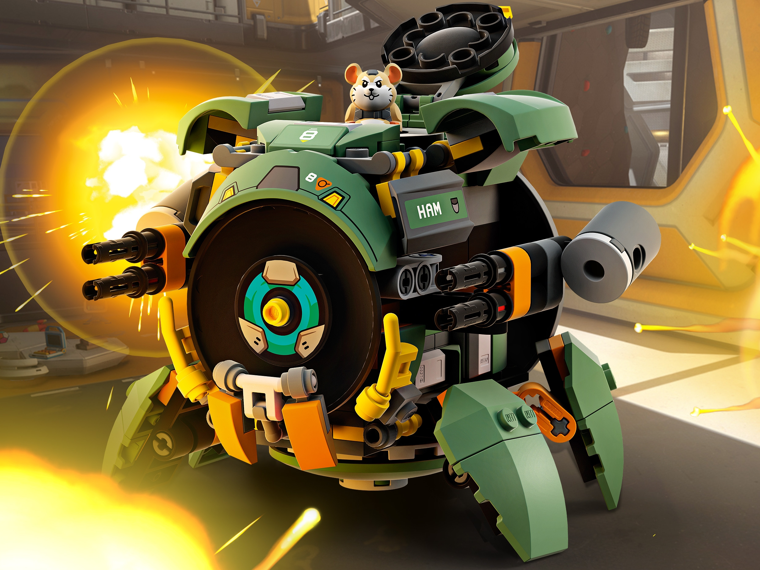 75976 Lego Overwatch Wrecking Ball