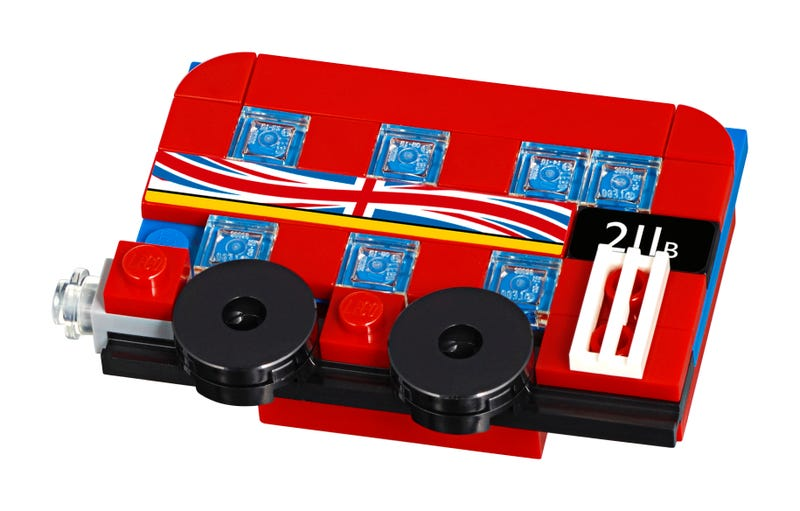 London Bus Magnet Build