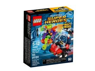 Mäktiga mikromodeller: Batman™ mot Killer Moth™