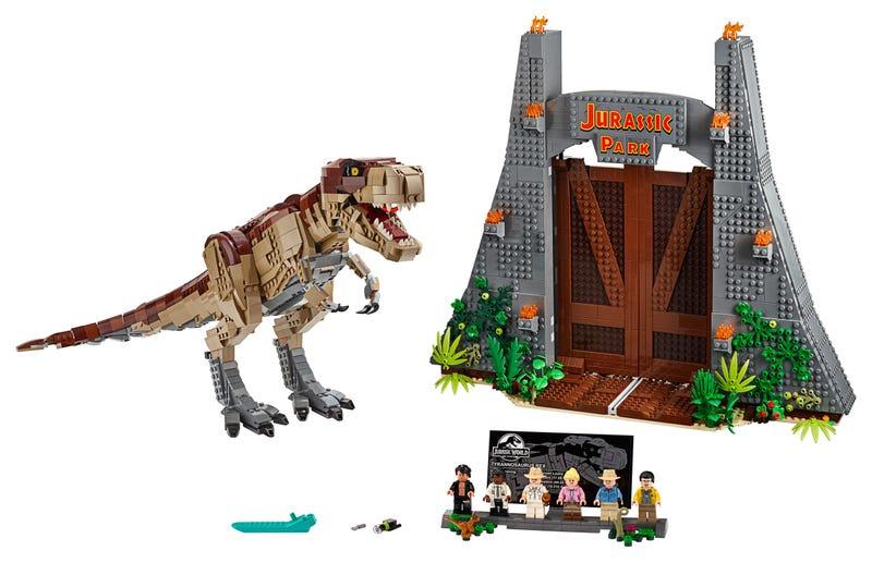 Jurassic Park: T. Rex' Verwüstung