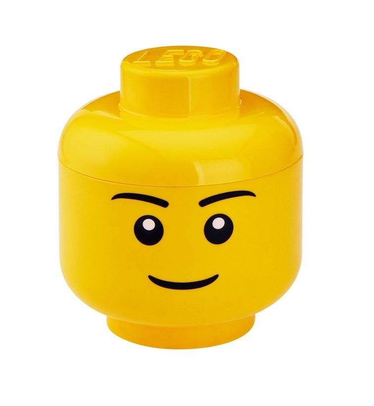 Lego Storage Head S Stackable /& Fits Lego Storage Bricks For More Storage Fun