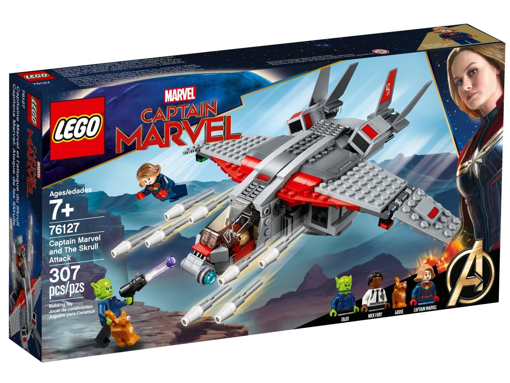 Genuine LEGO® Minifigures NEW with Helmet Avengers//MARVEL Captain Marvel