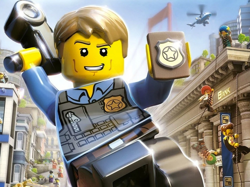 LEGO® City video games and mobile apps games | Official LEGO