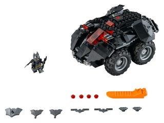 La Batmobile télécommandée