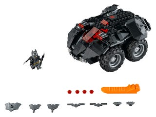 App-Gesteuertes Batmobile