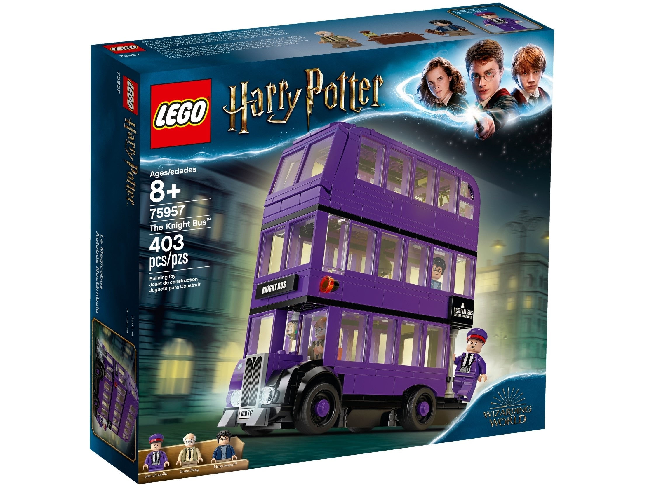 Harry Potter Knight Bus Shoes
