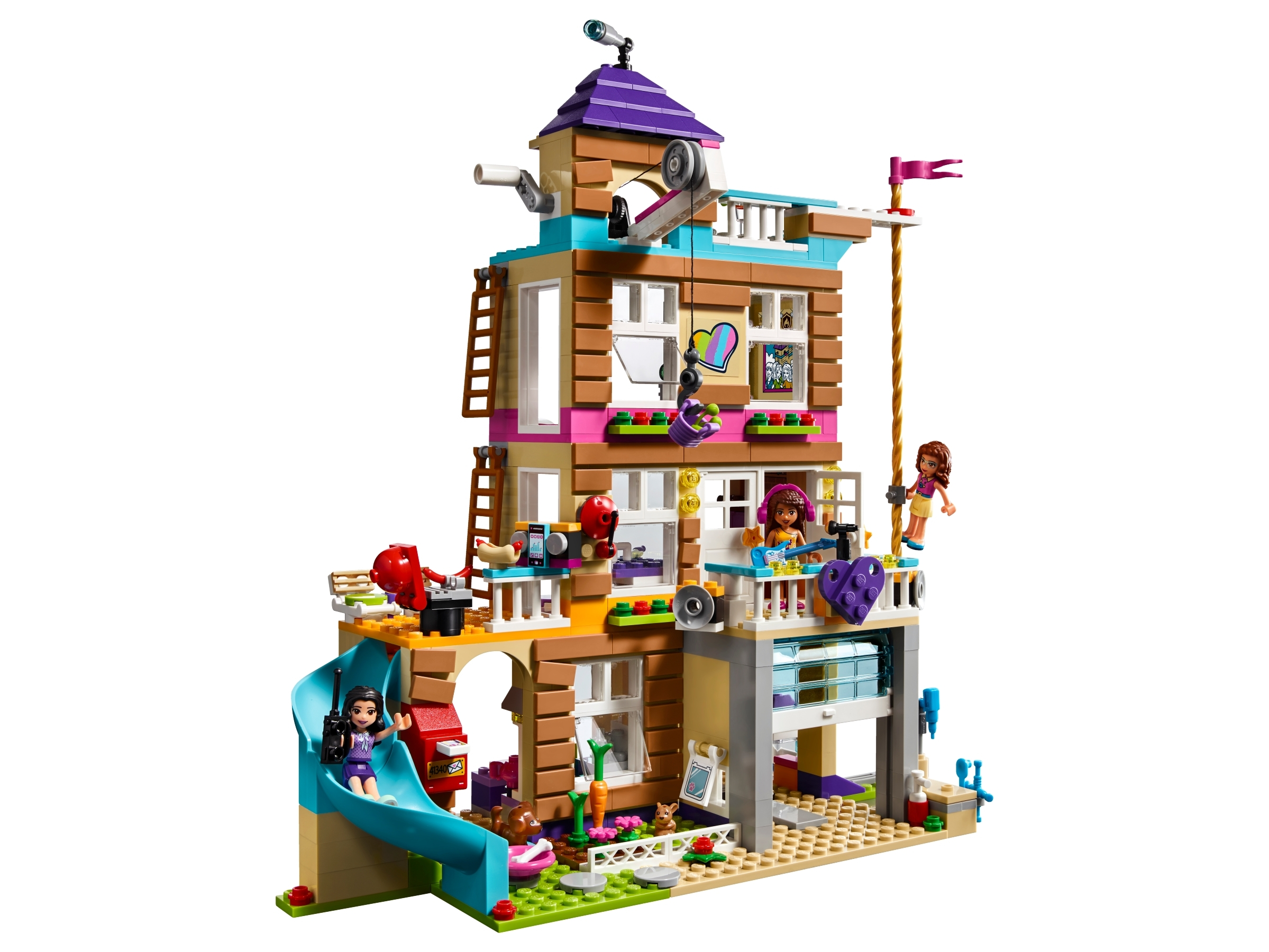 Friendship House 41340 Friends Buy Online At The Official Lego Shop Us