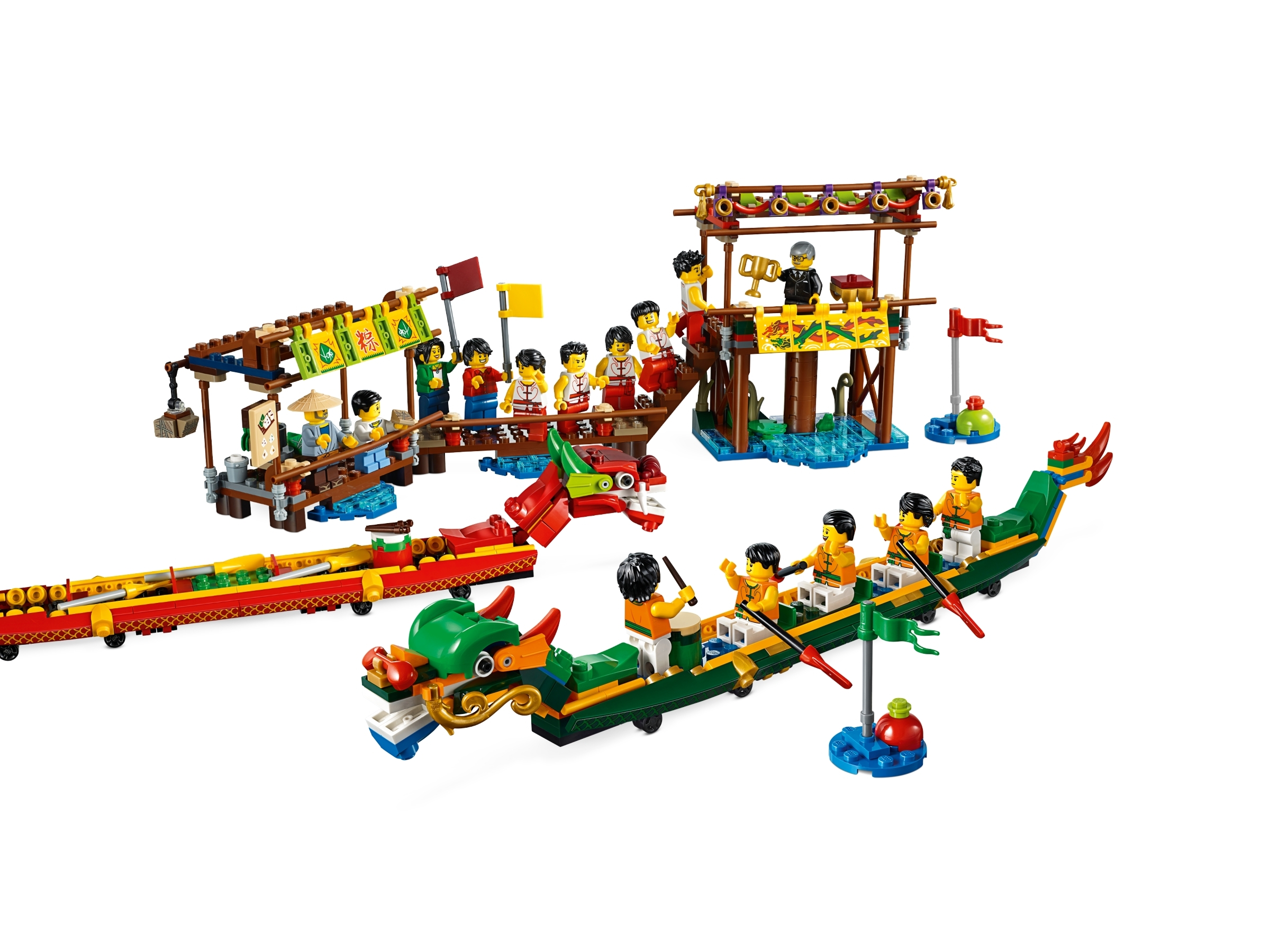 NIB LEGO 80103 Dragon Boat Race 2019 Chinese Festival Asia Exclusive In Stock