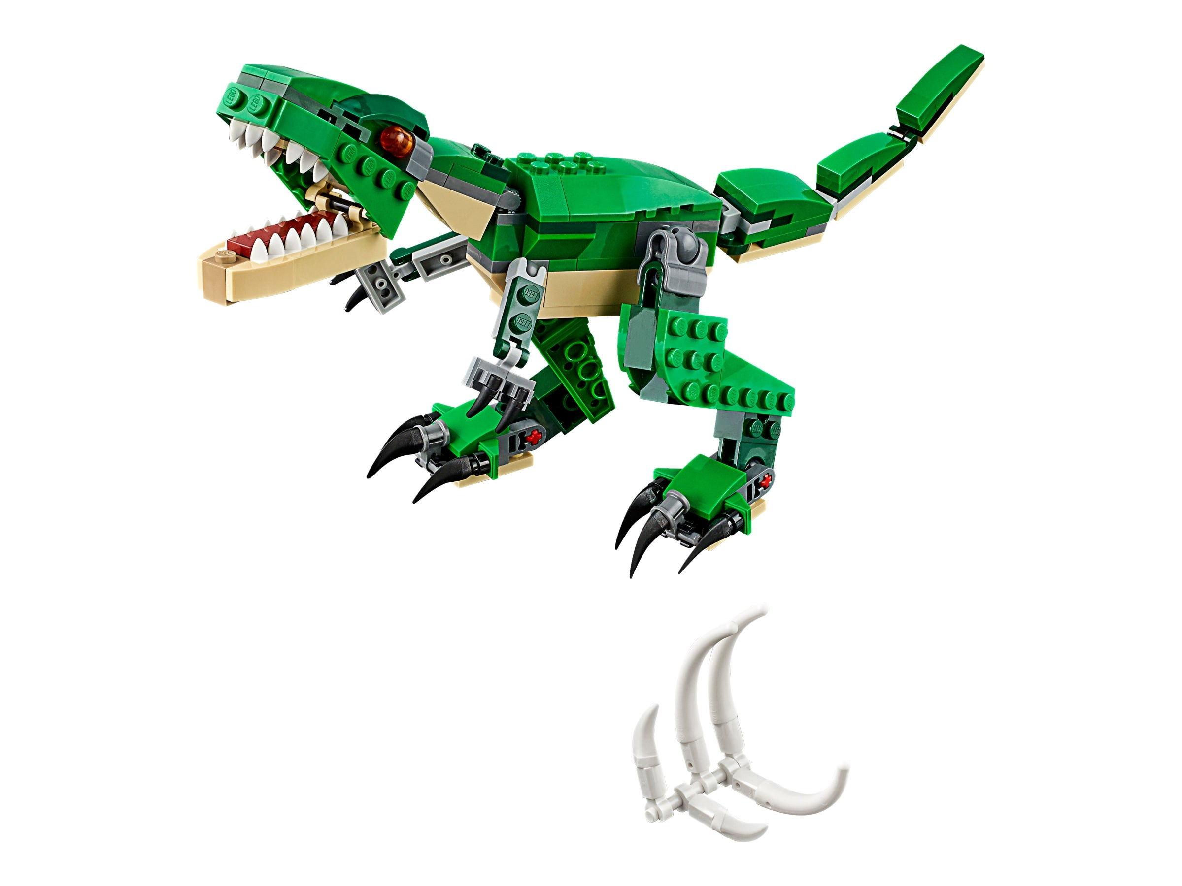 LEGO Creator Mighty Dinosaurs Toy 3-in-1 Triceratops Pterodactyl T-Rex 2-DayShip
