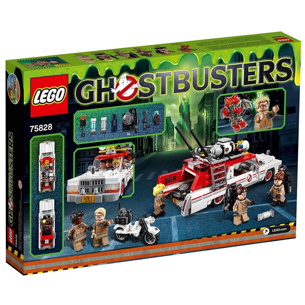 LEGO Ghostbusters Ecto-1 /& 2 75828
