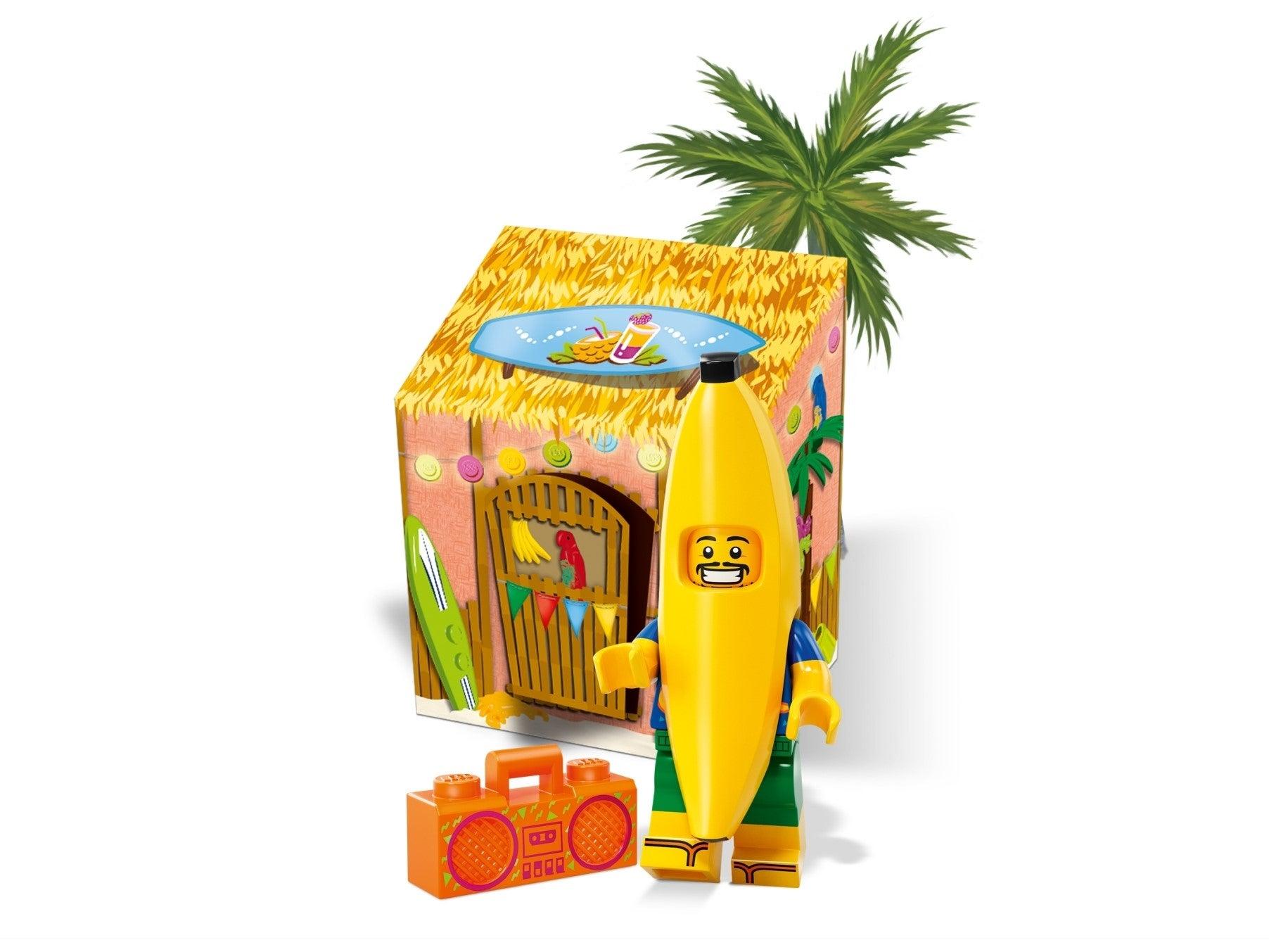 Lego Party Banana Man MINIFIGURE Juice Bar Boom Box 6217088 5005250 SHIPS FREE