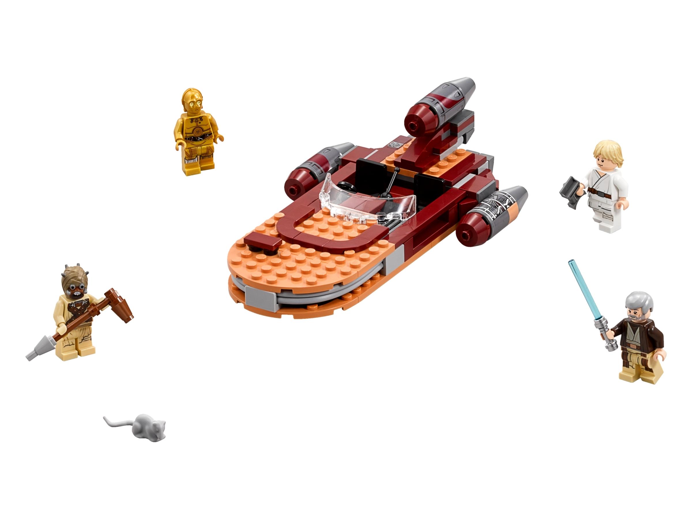 Luke S Landspeeder 75173 Star Wars Buy Online At The Official Lego Shop Us It was widely considered to be a pest. luke s landspeeder