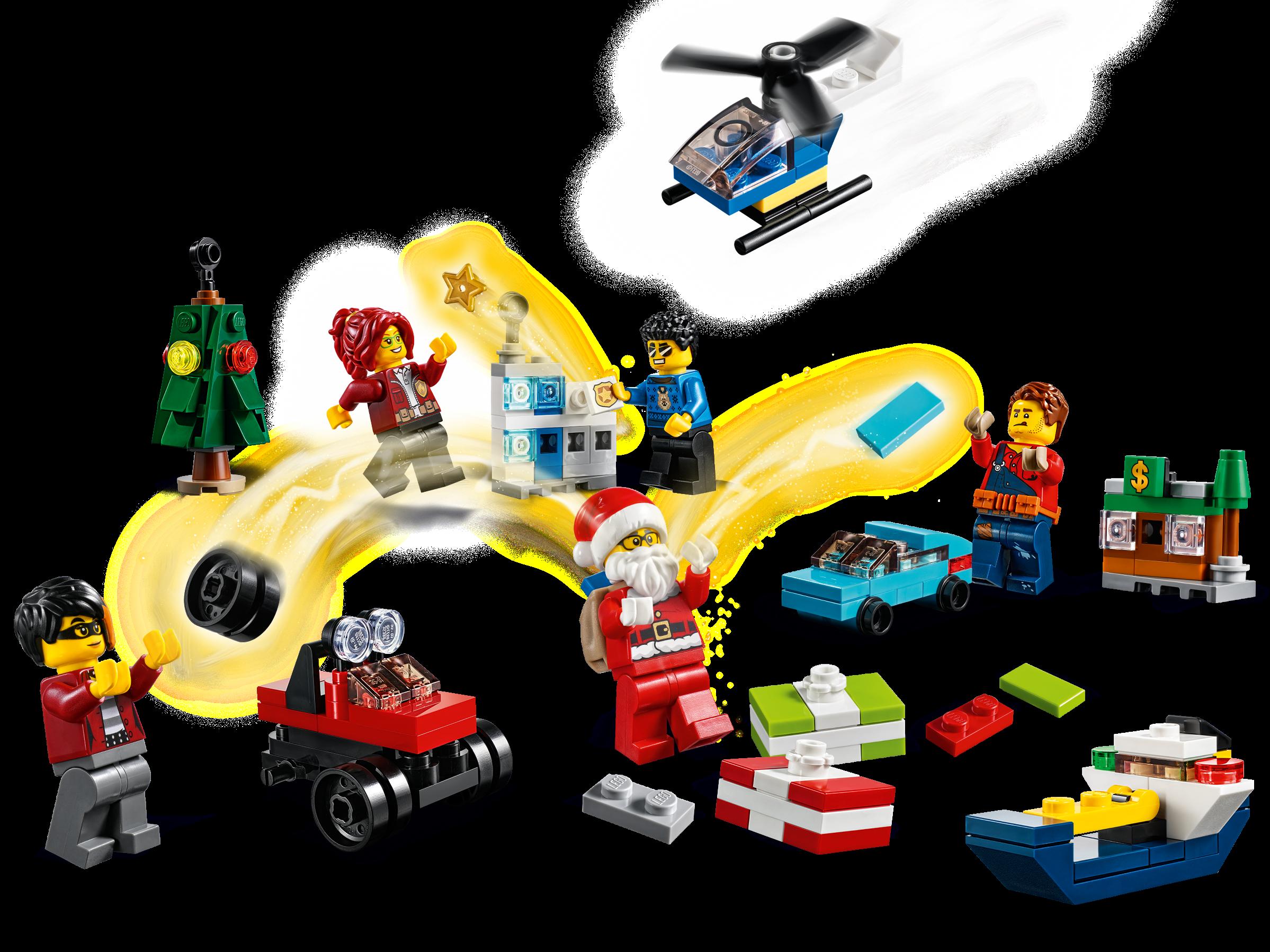 60268 LEGO City Town: LEGO City Advent Calendar 2020 Christmas,Calander New