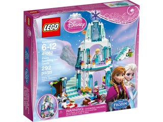 Le palais de glace d'Elsa