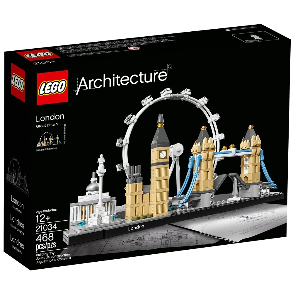 21034 BRAND NEW LEGO Architecture Skyline Collection London