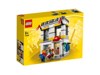 Negozio LEGO® in microscala