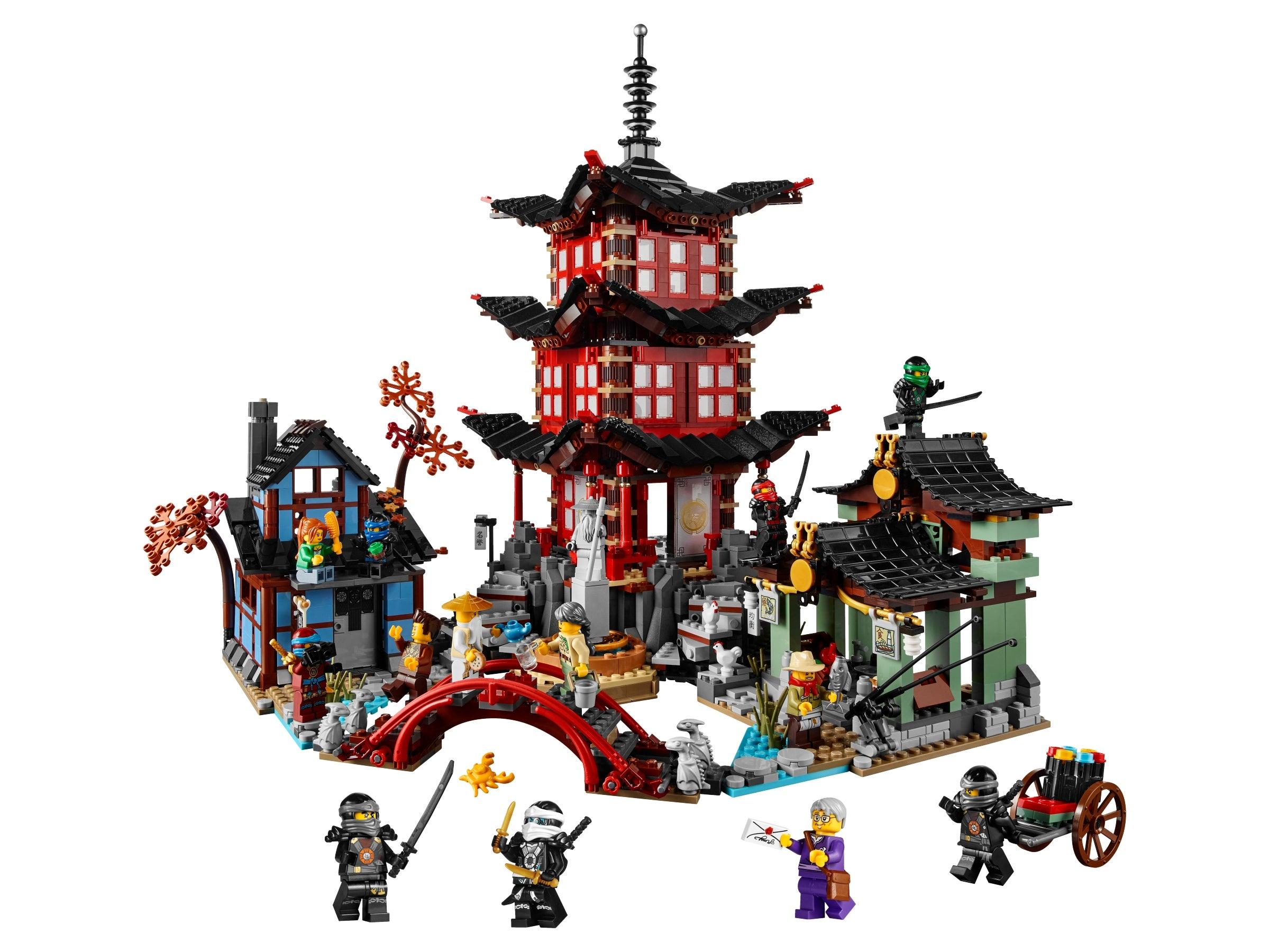 Temple of Airjitzu Lego Ninjago Kai Minifigure Set 70751 Spielzeug Bau- &  Konstruktions-Minifiguren