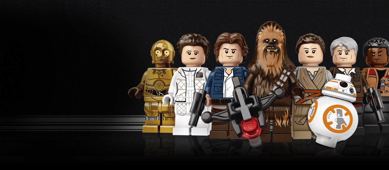 Personages uit LEGO® Star Wars™