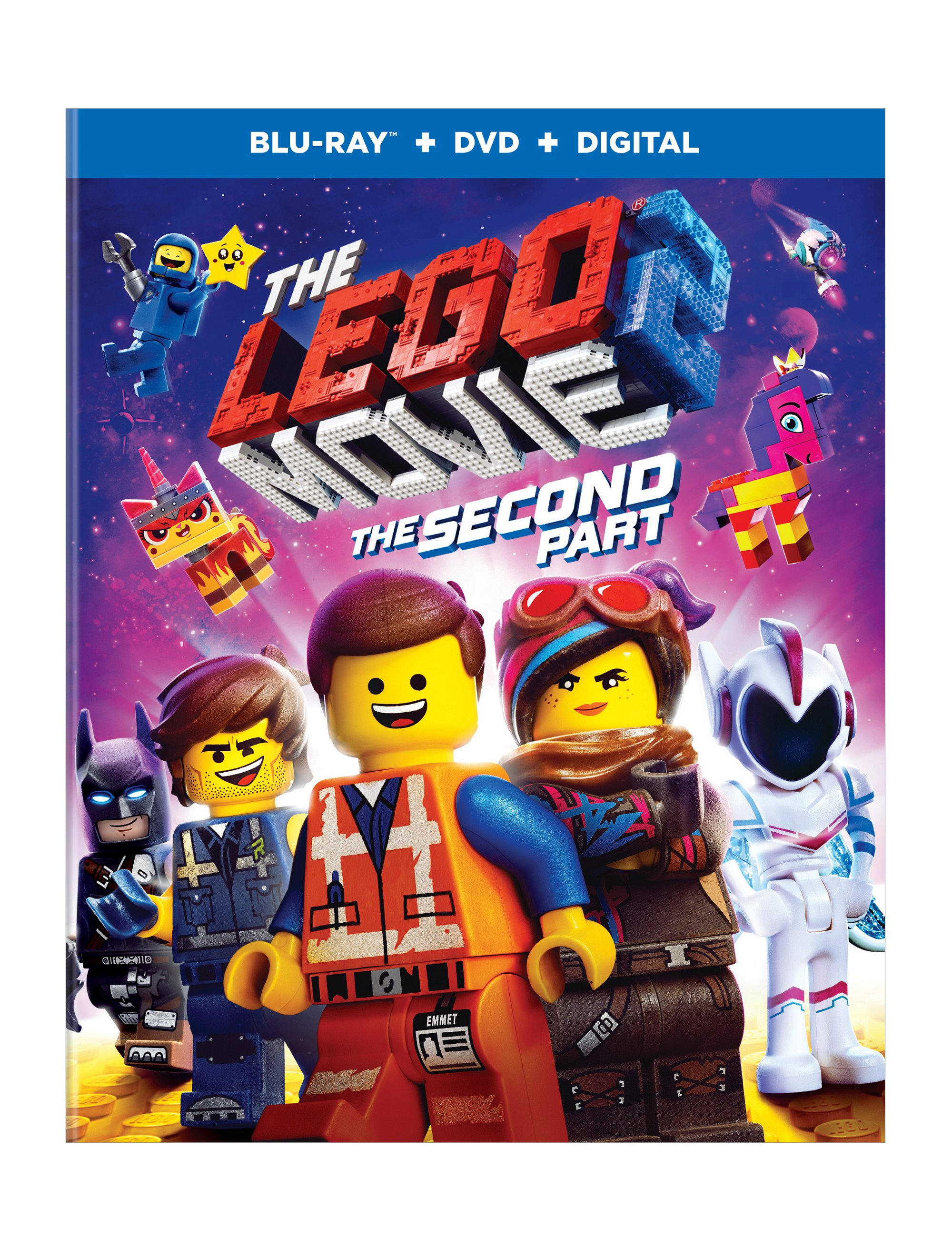 The Lego Movie 2 The Second Part Blu Ray 5005885 The Lego Movie 2 Buy Online At The Official Lego Shop Ca