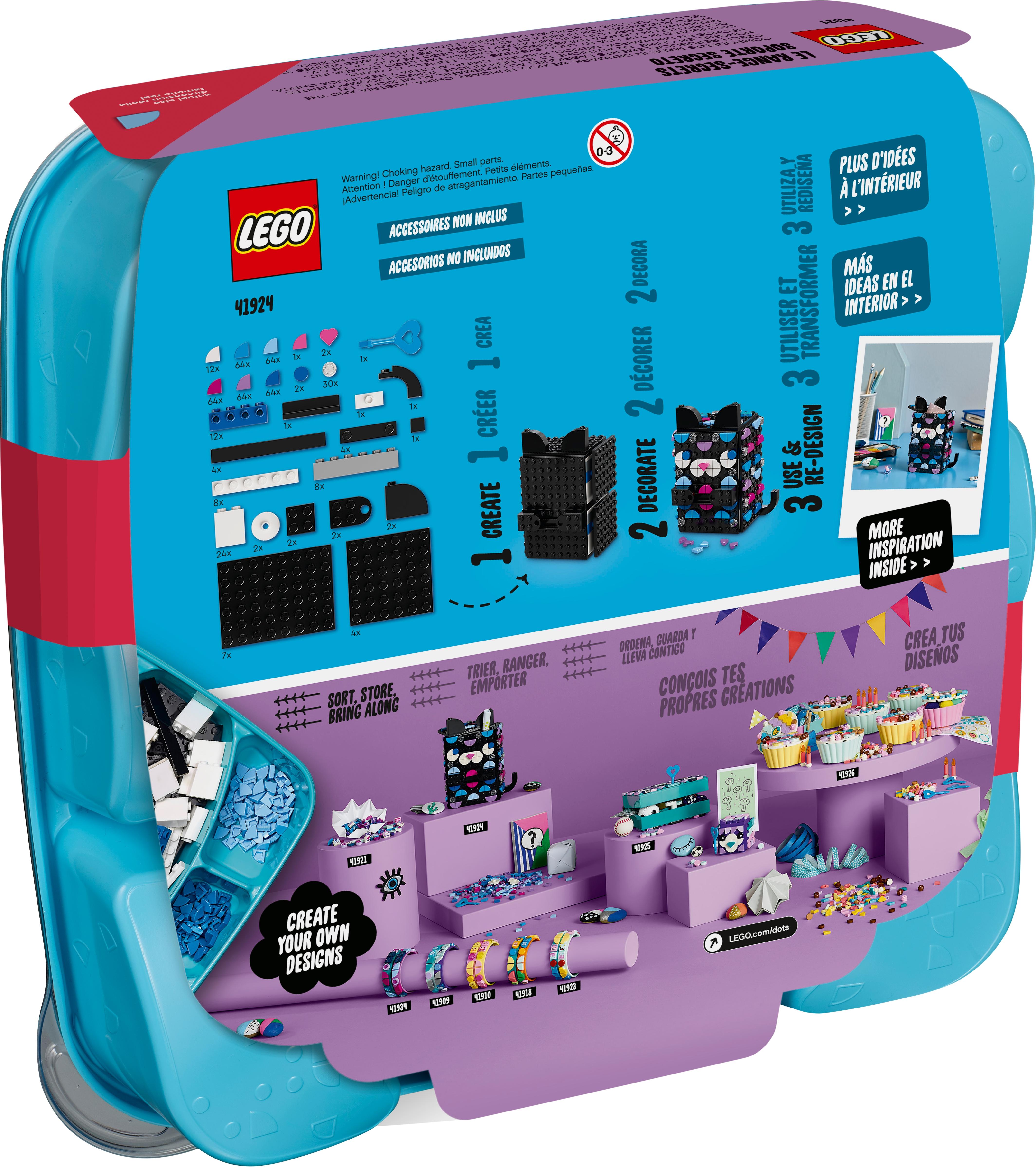 Geheimbox Katze 20   DOTS   Offiziellen LEGO® Shop DE
