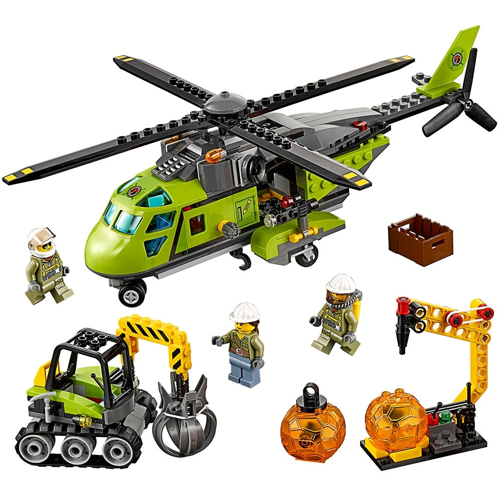 LEGO City Volcano Supply Helicopter NISB 60123