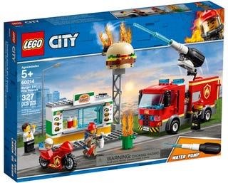 Burger Bar Fire Rescue