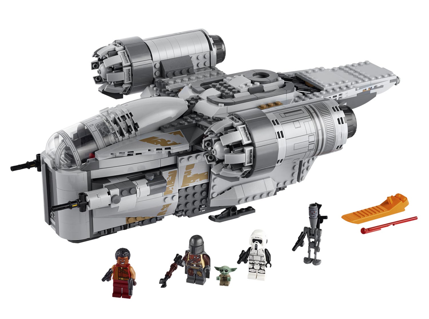 The Razor Crest 75292 Star Wars Buy Online At The Official Lego Shop Us