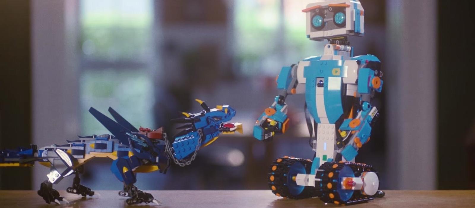 LEGO®BOOST und NINJAGO®Blitzdrache