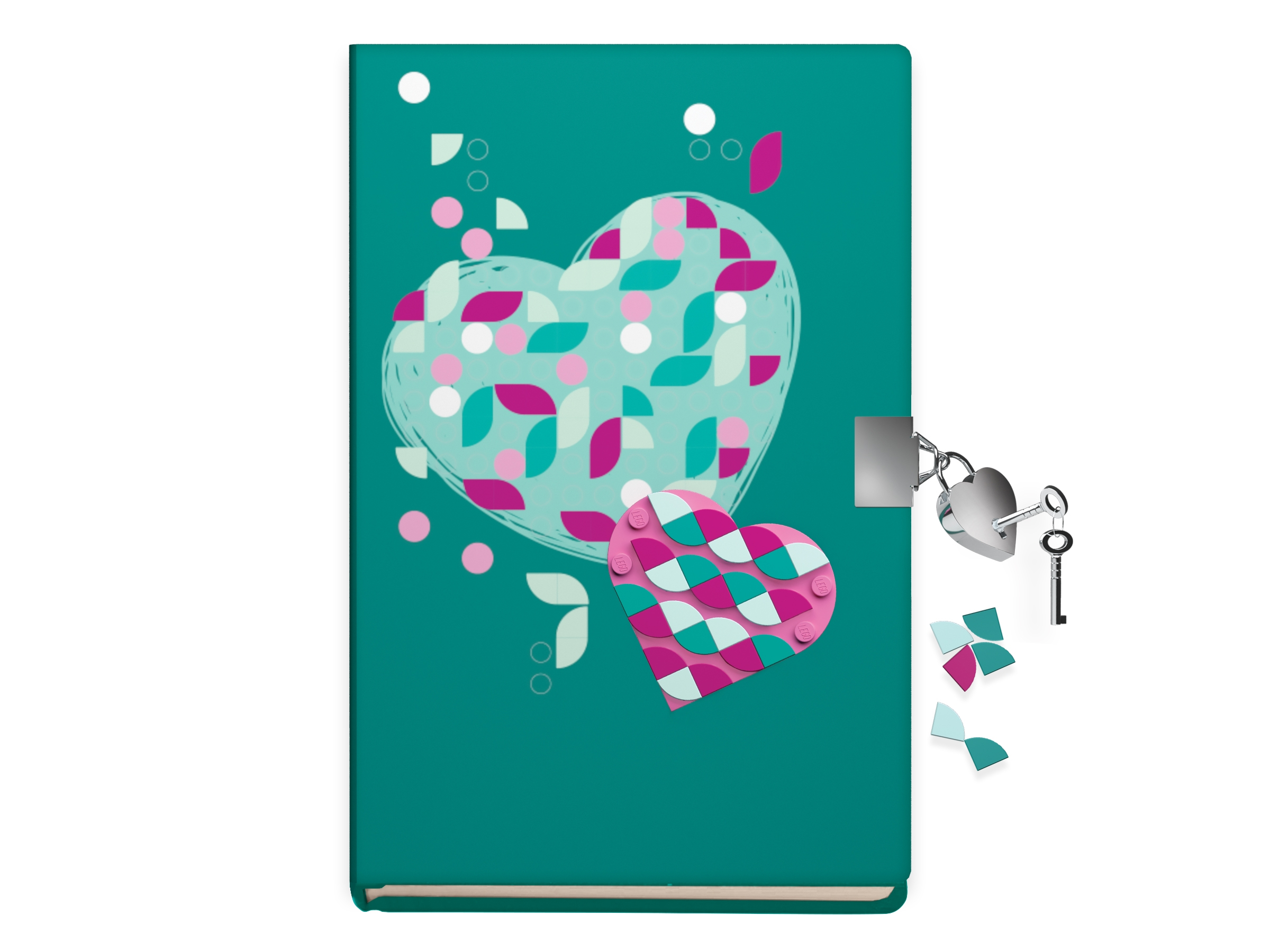 Secret Diary with Lock 5006272 | DOTS | Buy online at the Official LEGO®  Shop CA
