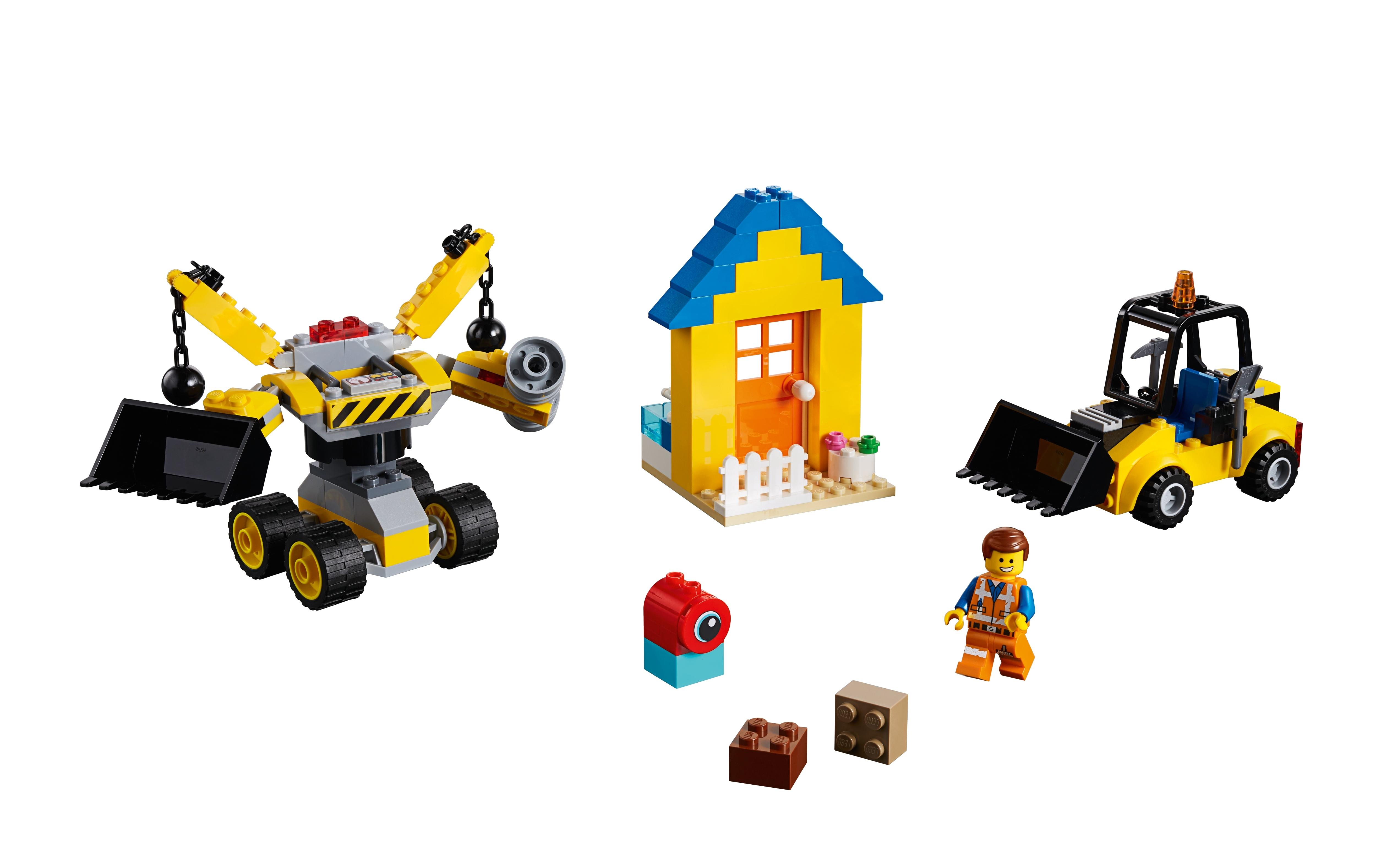 The Lego Movie 2 Emmets Builder Box Set New Kids Children Toy Game 70832