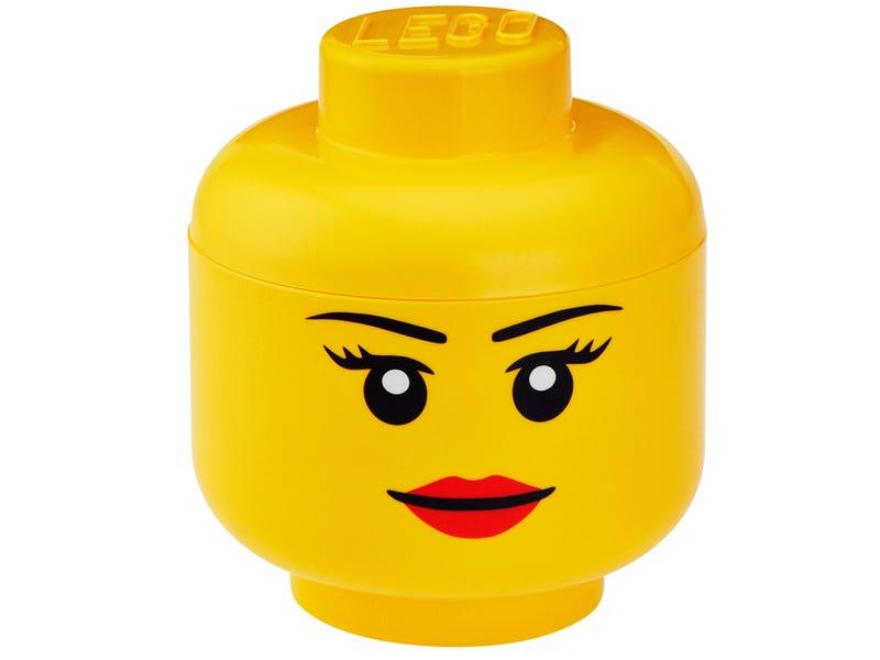 LEGO® Girl Storage Head Large