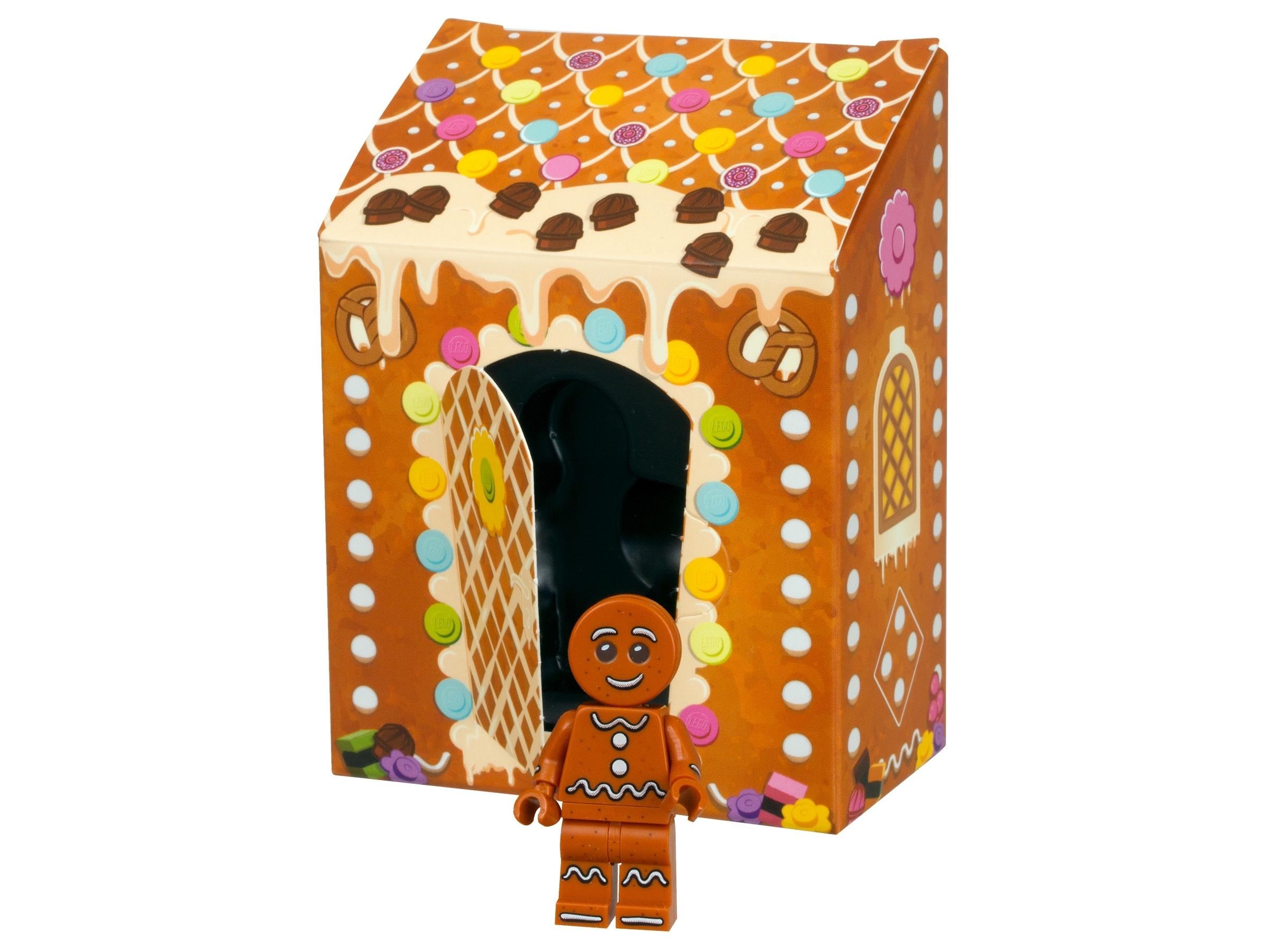 Original LEGO Gingerbread Man 5005156 New Minifigure