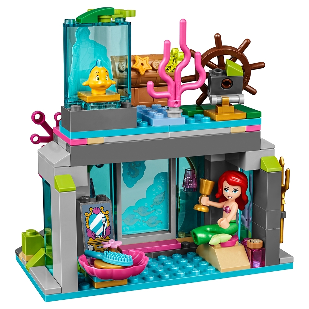 222 Piece LEGO Disney Princess Ariel and The Magical Spell 41145 Building Kit
