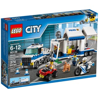 Mobile Command Center 60139 City Buy Online At The Official Lego Shop Us